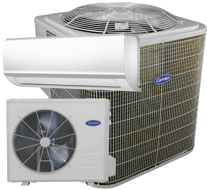 Carrier comfort air conditioner ductless split