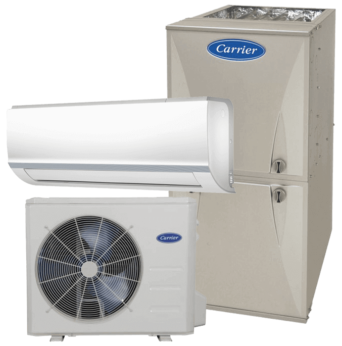 Carrier Comfort furnace heat pump