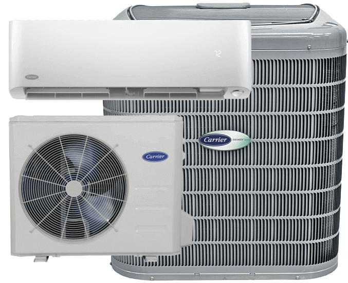 Carrier infinity air conditioner ductless split