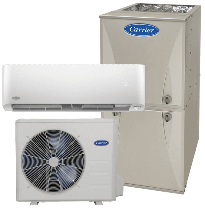 Carrier Infinity furnace heat pump